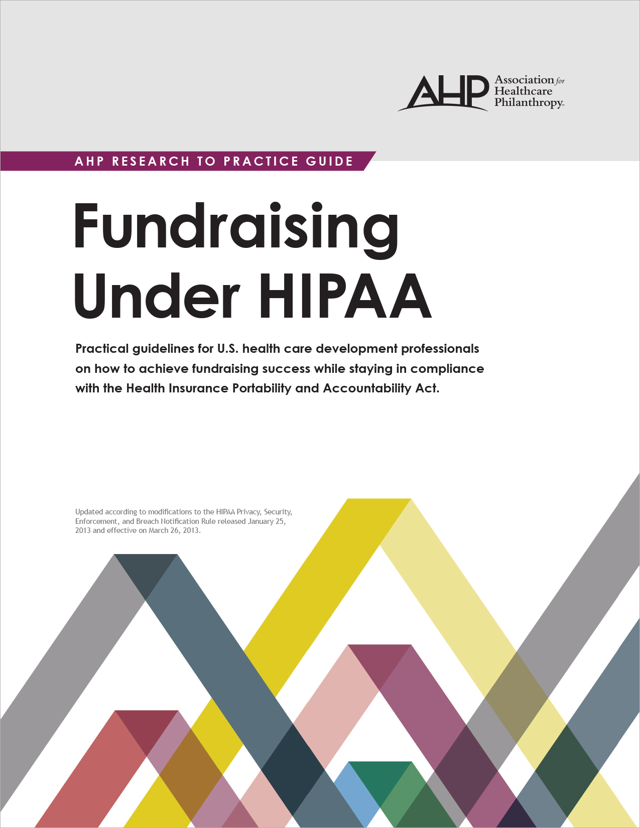 Fundraising Under HIPAA (e-version)
