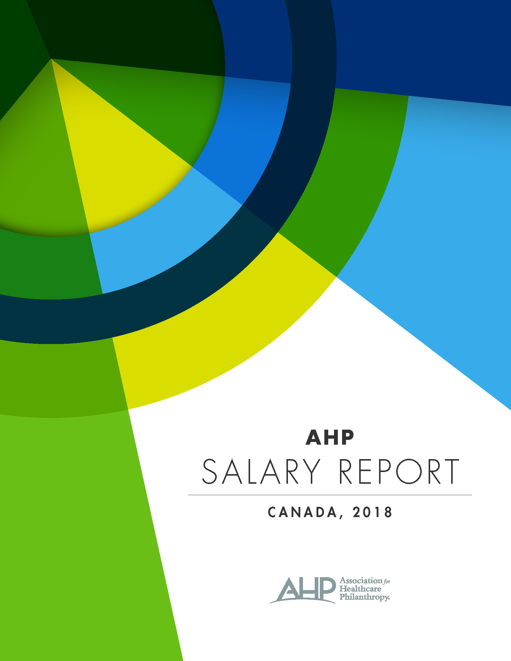2018 AHP Salary Report Canada (Digital Report)